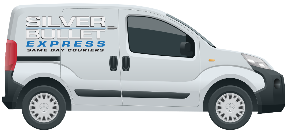 Silver Bullet Express Delivery Van